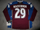 NATHAN MACKINNON Colorado Avalanche SIGNED Autographed Home JERSEY w COA New M