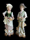 Bisque ANTIQUE German statues-artist Unger Schneider & Cie marked ca. 1879-1886