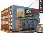 Downtown Deco HO Scale Fat Lou's Liquor Hydrocal Craftsman Kit Gritty Urban Look