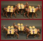 Country Glossy Highlanders Brigade - Lot of *3* Supply Mules