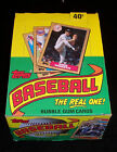 1987 TOPPS BASEBALL CARDS BOX UNOPENED WAX PACKS