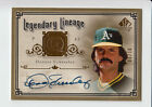 2005 SP Legendary Cuts Autograph DENNIS ECKERSLEY 6 10 A's (A1Y)