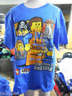 Licensed Youth Lego LEGO Moive Pirate & Emmet Shirt New Size 8