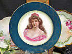GERMAN BEEHIVE MARK LADY PORTRAIT PLATE VICTORIAN LADY