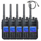 5PCS TYT Walkie Talkie UHF 5W 1000CH Digital (DMR) Two way Radio+1XTYT USB Cable