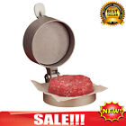 Round Burger Meat Press Hamburger Patties Machine Maker Non Stick Mold Grill BBQ