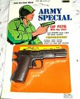 Die-Cast Metal - Key Chain - Toy Cap Gun - Army Special .45 - 3 3/8 inch - #1027
