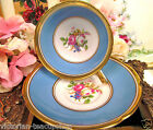 COLLINGWOOD TEA CUP AND SAUCER BLUE & GOLD FLOWER CENTERS TEACUP PATTERN