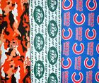 SPORTS TEAMS #3 Fabrics, Sold Individually, Not As a Group, By The Half Yard