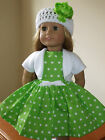 AMERICAN GIRL DOLL CLOTHES CUSTOM MADE IN THE USA-DRESS LOT