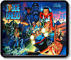 Vintage Bally Back Glass of the Judge Dredd Pin Ball Machine Mouse Pad