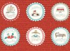 Red Rooster Fabrics PANEL Quilt #H303 Medallions NICE PEOPLE NICE THINGS 23x44