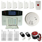 GSM Wireless&Wired Home Security Alarm System auto dialer+panic button/sensors
