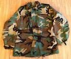 ~GENUINE US MILITARY '91 WOODLAND CAMO SM REG M65 FIELD JACKET COAT COLD WEATHER