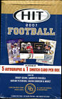 2007 SAGE HIT Football Hobby Box (NEW SEALED)- 5 Autos & 1 Swatch cards in Box!