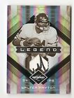 2009 LEAF LIMITED WALTER PAYTON PATCH # 50 WITH AUTO ON SWATCH CHICAGO BEARS