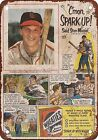 1953 Stan Musial for Wheaties Vintage Look Reproduction Metal Sign