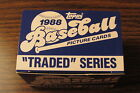 1988 TOPPS Traded Series 132 Baseball Card Set New In Box Rookies