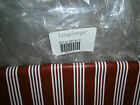 LONGABERGER RED BERRY STRIPE FABRIC - RARE AND RETIRED
