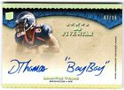 DEMARYIUS THOMAS 2010 TOPPS FIVE STAR QUOTEABLES INSCRIPTION AUTO RC #7 15 HOT