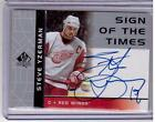 STEVE YZERMAN 03 SP Authentic Sign of the Times Auto Autograph #SY Hard-Signed