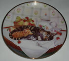 CAT NAP Collector Plate - 8 1/4 inches