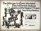 Mego Action Jackson 2 Page PRINT AD 1972