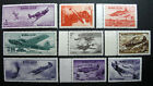 Russia 1946 992A-992I MNH OG WWII Russian Soviet Airplanes Set $90.00!!