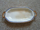 1922 Vintage Edwin M. Knowles Vitreous China Small Serving Plate with Handles