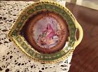 PORCELAIN PORTRAIT DISH ~WOMAN, CHILD & CHERUB ~BAVARIAN  CICO GERMANY ~ VINTAGE