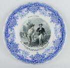 White Decorative Scene  Plate