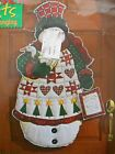 Quilted Snowman Door Wall Hanging Christmas Holiday Quilt Kit By Daisy Kingdom