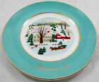 1973 Avon Christmas Collectors Plate