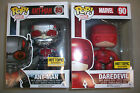 Funko Marvel Ant-Man Pop! Ant-Man GITD & Daredevil Hot Topic Exclusives