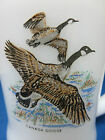 Anchor Hocking Fire King Birds Canada Goose White Milkglass Mug Cup D Handle EUC