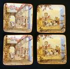 Vintage New Hall Hanley Staffordshire England Set Of 4 Pin~Trinket Trays~Dishes