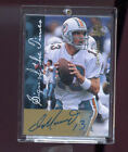 1997 SP Authentic Sign Of The Times Dan Marino Signed Autograph AUTO Card insert
