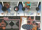 EDDY CURRY AUTO AUTOGRAPH ROOKIE JERSEY PATCH JERRY WEST NBA LOGO CARDS #'D 10
