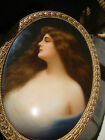 Antique   KPM   Porcelain Plaque Wagner Asti