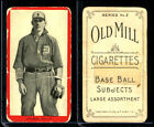 1910 T210 Old Mill Baseball Cards 13