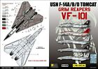 DXM decal 1/48 USN F-14A/B/D VF-101 Grim Reapers