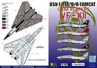 DXM decal 1/144 USN F-14A/B/D VF-101 Grim Reapers