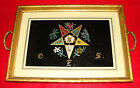 Vintage Masonic Order of the Eastern Star Serving Tray - Women's Fraternal Order