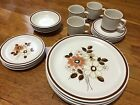 VTG Set 20 PCS Pleasant Grove The Woodhaven Collection Stoneware Japan