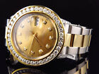 Rolex Datejust 2 Tone 41MM 18k Stainless Steel Oyster Band Diamond Watch 7.35 Ct
