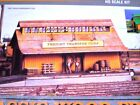 Model Railways HO Scale Laser Cut Classic Wood Freight Depot Building Kit - NEW