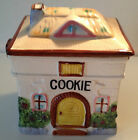 VINTAGE COTTAGE COOKIE JAR GRANTCREST HAND PAINTED JAPAN COLLECTIBLE