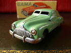 Light Green 50's US Zone GAMA 100 Schuco Licence Tin Wind-up Buick Or. Box