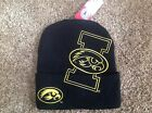 Iowa Hawkeyes Officially Licensed NCAA Cuffed Beanie Hat-BNWT's