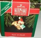 Hark! It's Herald`1992...4Th In Series,Elf Playing Horn-Hallmark Ornament-: